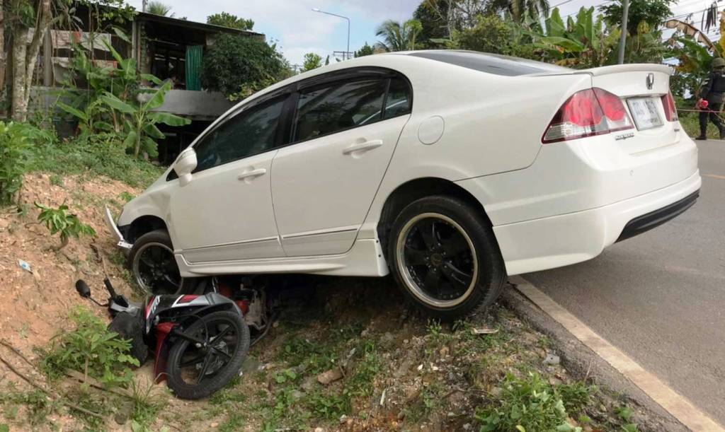 Driver Rams his Car into Armed Assailants in Thailand's Deep South