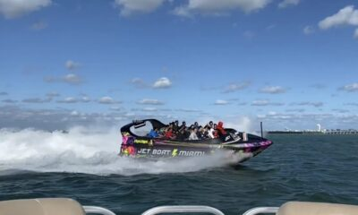 Tourists in Miami Flocking to Take New Adrenaline Jet Boat Ride