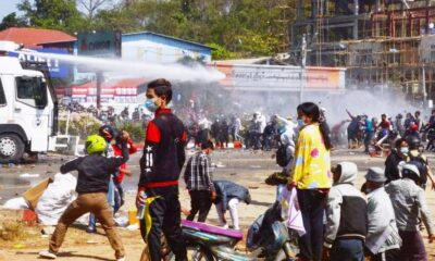 Myanmar Police Open Fire to Disperse Protest, Four Hurt, One Critical