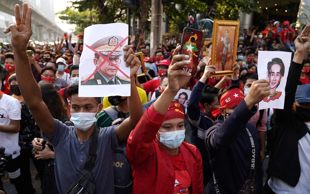 Myanmar's Aung San Suu Kyi Detained as Military Seizes Control