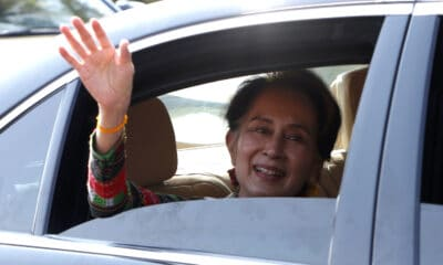 Military, Myanmar's Ruling Party Leader Aung San Suu Kyi Arrested by Military