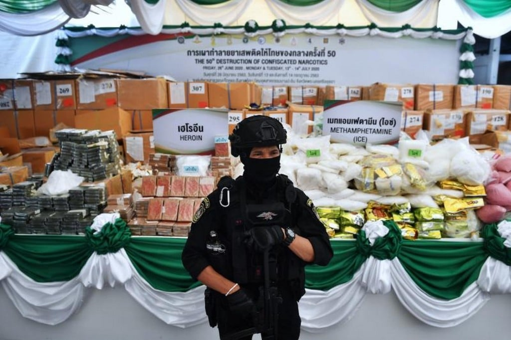 Narcotics Suppression Police Arrest Lieutenant of Vast Drug Syndicate