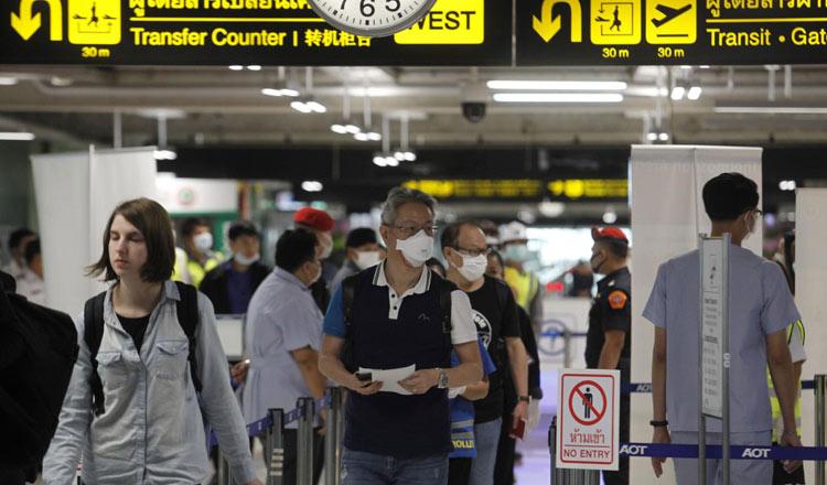 Transit of International Passengers Through Thailand Now Allowed