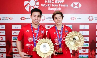 HSBC BWF World Tour Finals,Thailand's Dechapol and Sapsiree Make Badminton History