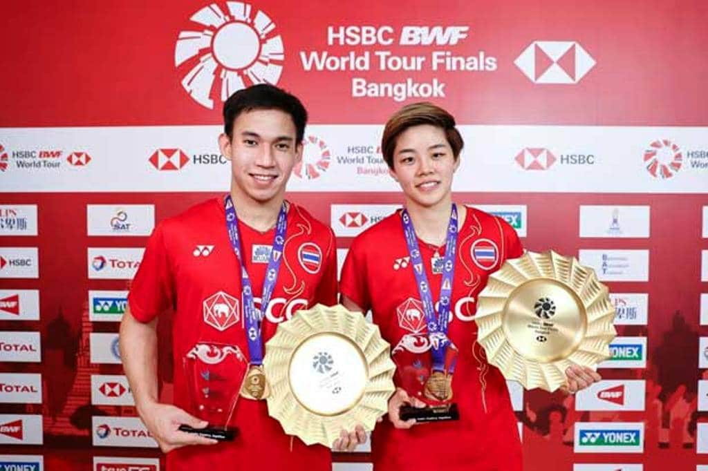 HSBC BWF World Tour Finals,Thailand's Dechapol and Sapsiree Make Badminton History