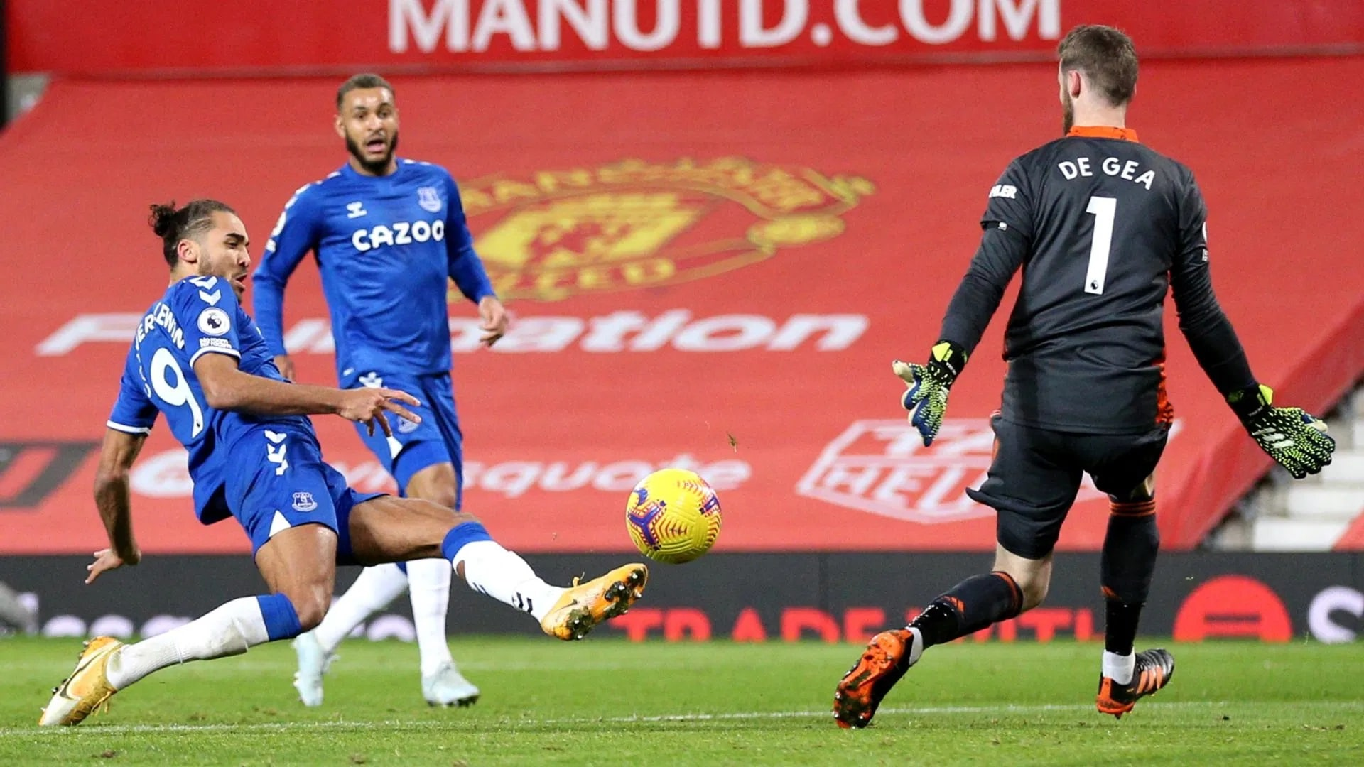 Manchester United vs Everton Football Club Ends in a 3-3 Draw