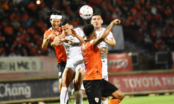 Chiangrai United in 5th Place with Win Over Chonburi FC 4-3