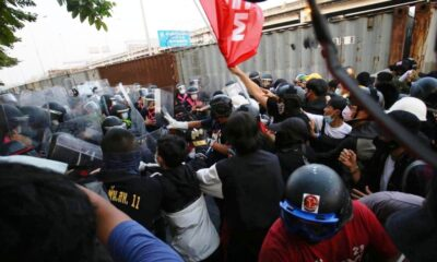 Thai Police Fire Rubber Bullets and Tear Gas at Pro-Democracy Protesters