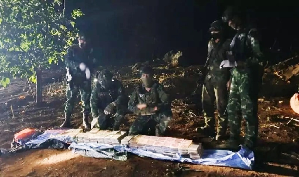 Pha Muang Task Force Seized 6KG of Heroin in Northern Thailand