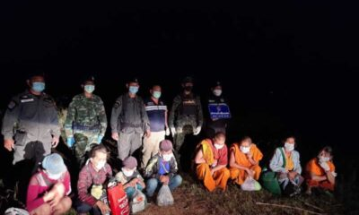 Myanmar Nationals Intercepted Crossing into Chiang Rai by Thai Army
