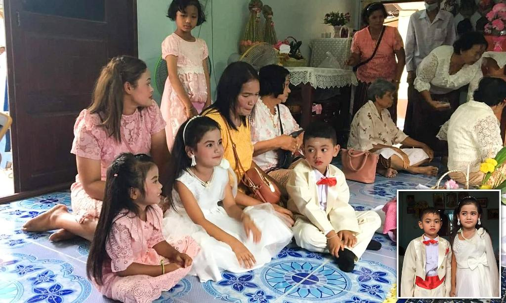 Five-year-old Twins Married to Fulfill Superstitious Buddhist Belief