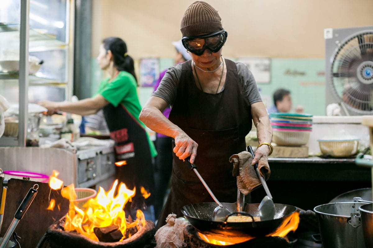 Bangkok's Queen of Street Food Jay Fai Continues to Cook Up a Storm