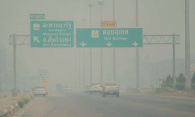 Northern Thailand Hit with Dangerous Levels of PM2.5 Dust Particles