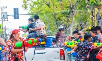 Street Water Fights Officially Banned from Songkran 2021