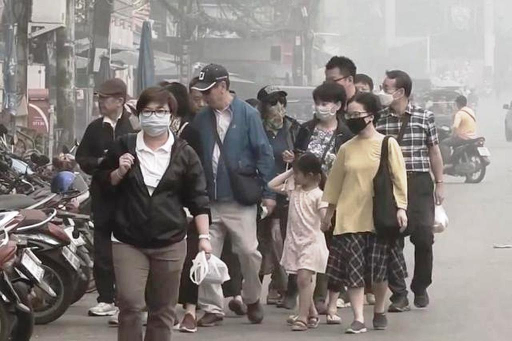 Air Quality in Northern Thailand Once Again Exceeds Safe Levels
