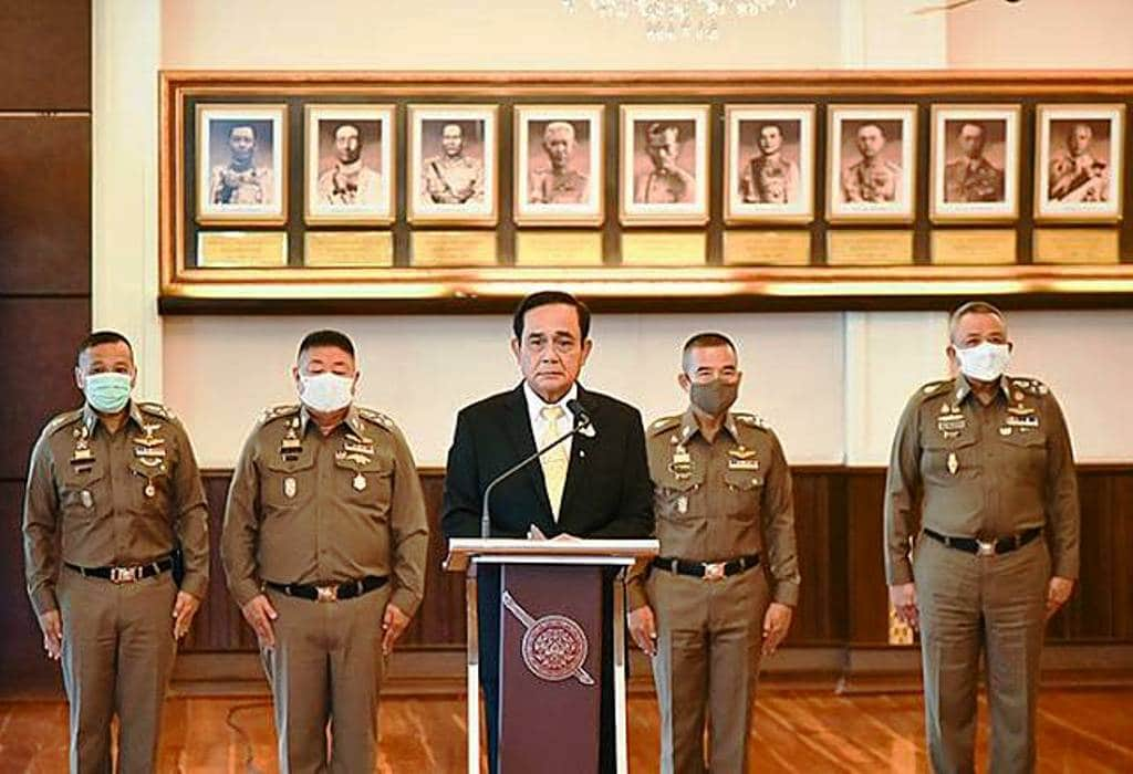 Flags Raised Over Top Position Buying in The Royal Thai Police