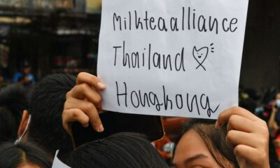 Milk Tea Alliance, myanmar, thailand, hong kong, taiwan