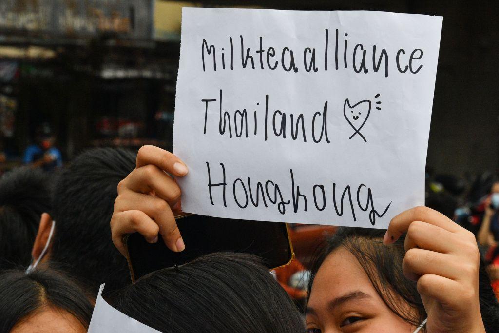 Milk Tea Alliance, myanmar, thailand, hong kong, taiwan