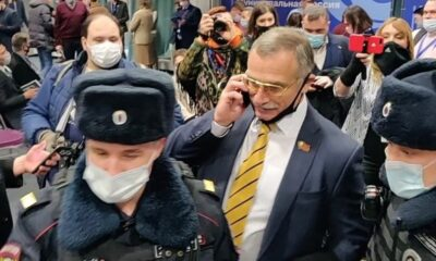 Moscow Police Use Cloak of Covid Restrictions to Intimidate Anti-Putin Leaders
