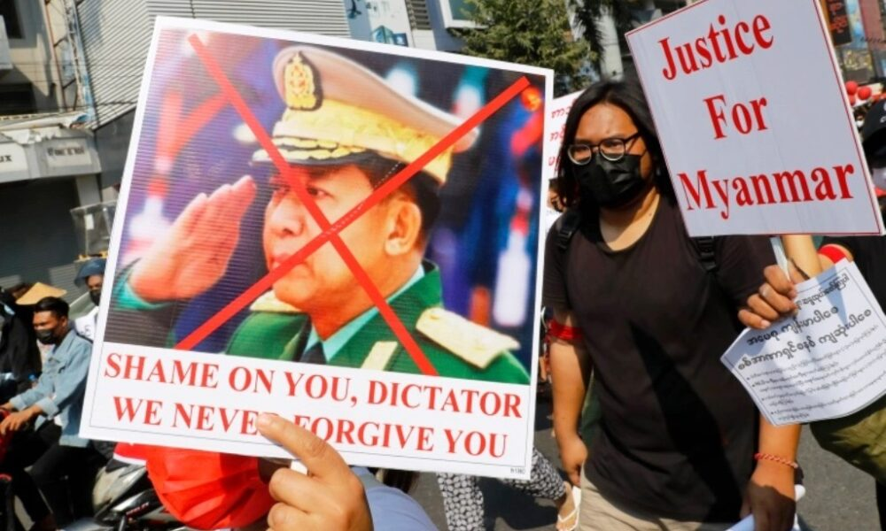 coup, Myanmar's Generals tell UN Were Ready to Withstand Sanctions