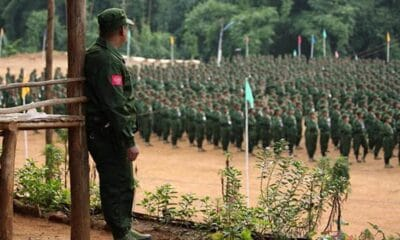 Myanmar's Military Faces Civil War with Armed Ethnic Groups