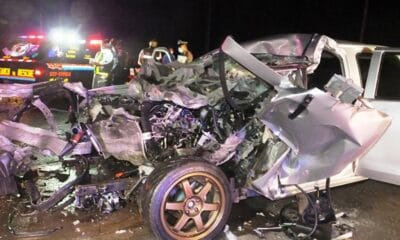 One Dead, 2 Injured after Pickup Truck Crashes into Freight Truck