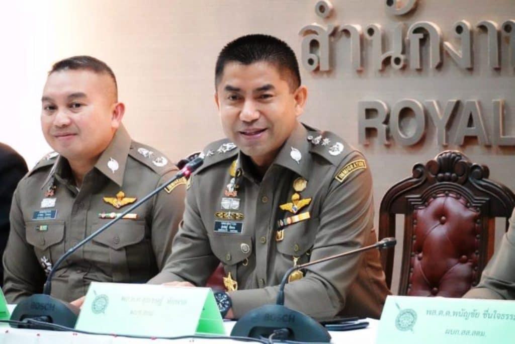 Police Lt Gen Surachate Big Joke Hakparn Reinstated to Active Duty