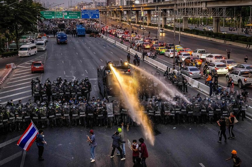 Policeman Dies During Pro-Democracy Protest, 32 Injured in Clashes