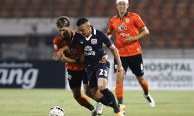 Suphanburi Stays Alive in T1 League Defeating Chiangrai United 2-1