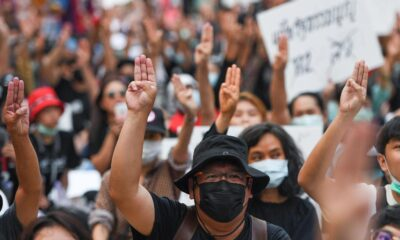 Thousands of Protesters Occupy Thai Capital Bangkok Demanding Reforms
