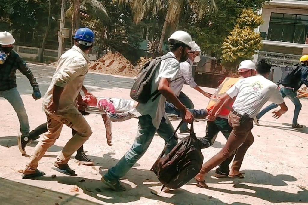 World Leaders Condemnation of Myanmar Killing Spree Toothless