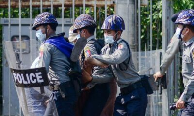 Police Flee Myanmar to Escape Taking Orders from a Military Junta