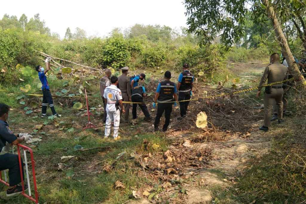 Human Remains Found in Central Thailand