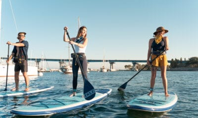 Sports Enthusiasts Buying BOTE Paddleboards to Escape the Pandemic