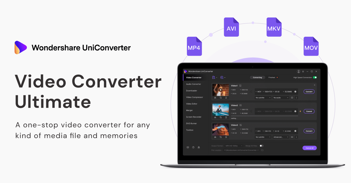 Converting MOV Video to MP4 Made Easy with Wondershare UniConverter