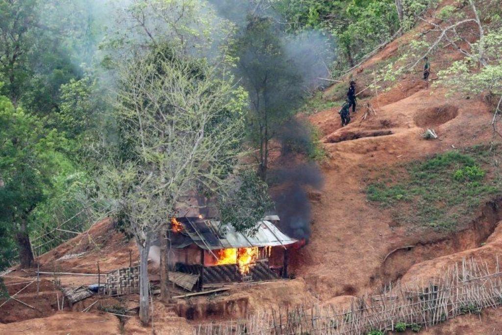 Thailand, Villages Flee Following Clashes Along Myanmar-Thai Border