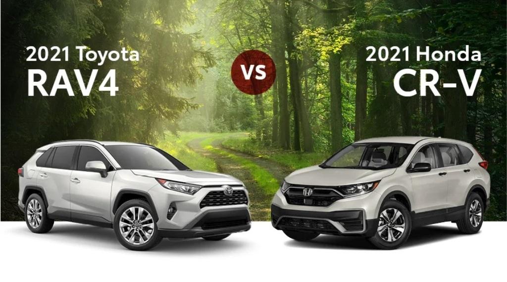 crossover segment, 2021 Toyota RAV4 vs 2021 Honda CR-V1