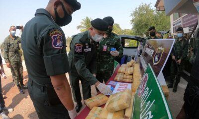 550 Kilograms of Crystal Meth Seized on the Bank of the Mekong