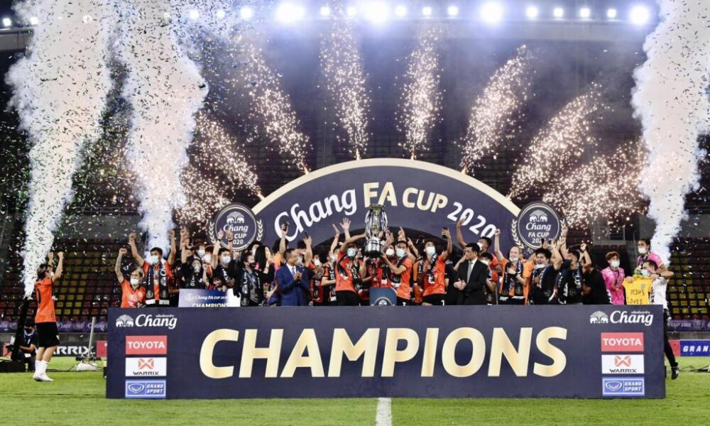Chiangrai United Wins the FA Cup in an Overtime Shootout with Chonburi