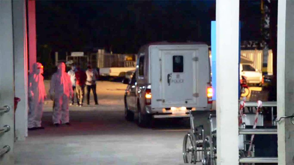 Covid-19 Infected Trio Arrested after Fleeing Field Hospital