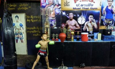 "Despite Risks, 9 Year-old Muay Thai Boxer ""Tata"" Eager to Start Fighting"