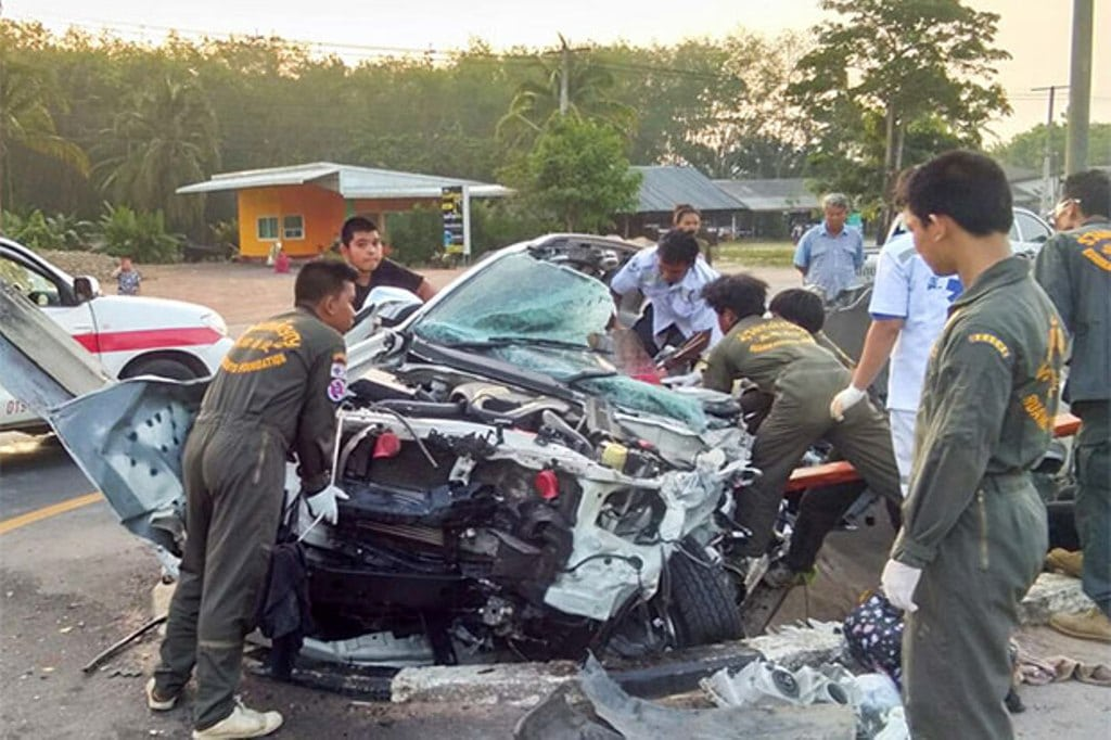 Drunk Driving the Main Cause of Accidents and Deaths During Songkran