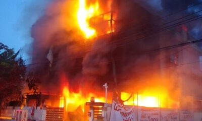 Four Volunteer Firefighters Killed When House Collapses from Raging Fire