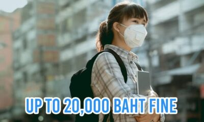 Face Mask Become Mandatory in Thailand, Wear One or Pay a Hefty Fine