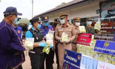 Mekong Navy Patrol Seized 365 Kilogram of Crystal Meth
