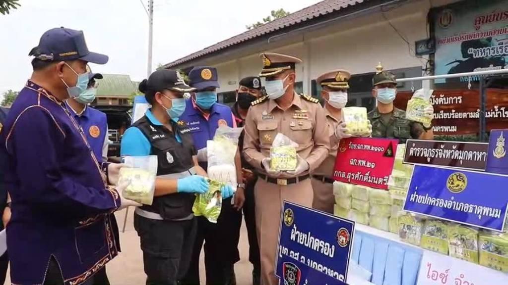 Mekong Navy Patrol Seized 365 Kilogram of Crystal Meth