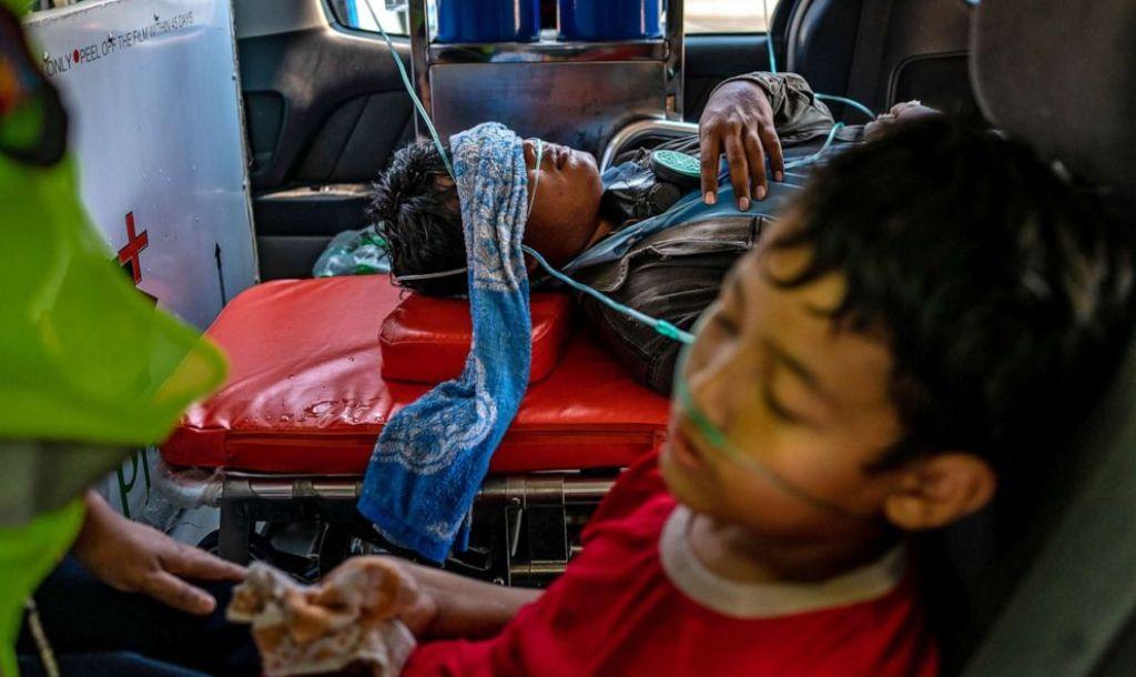 Myanmar, Junta, International Condemnation,Killing, Children