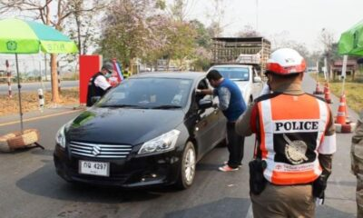 Police Checkpoints in Thailand Back Nationwide Under New Directives