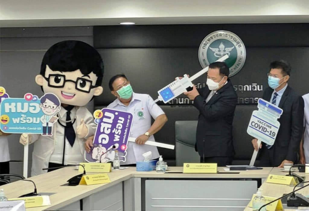 Thai Health Minister Defends Sinovac Vaccine Despite its Ineffectiveness