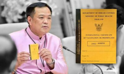 Thailand to Issue Covid-19 Passports to People Who Have Been Vaccinated